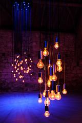 Tungsten Requiem (The Green Album) Tags: messums wiltshire gallery art installation light bulb filament tungsten synchronised music requiem michaelhulls beauty mesmerising tithe barn
