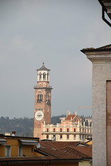 The Tower (Worthing Wanderer) Tags: verona italy spring april sunny city roman ruins architecture
