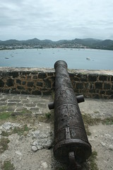 Historic canon, Fort Rodney, Pigeon Island - St Lucia (h_savill) Tags: 2019 february feb caribbean st lucia antilles windward isles holiday trip vacation exploreworldwide travel view landscape pigeon island np soufriere piton stlucia pigeonislandnationalpark rodney history historic military fortrodney