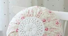 طريقة خياطة وسادة دائرية لغرف النوم اشغ (ezo-handmade) Tags: اشغال يدوية الطرز و الخياطة خياطة وسائد pillow sewing