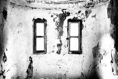 "FXE30879 (""Pande"") Tags: urbex architecture blackwhite bw blackandwhite abandoned building old highkey hospital"