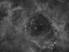 Rosette Nebula (Ha) (Photonen-Sammler) Tags: ngc 2244 rosette nebula narrowband deep sky astrophotography astronomy