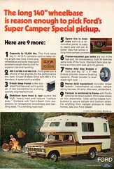 1974 Ford F-Series Super Camper Secial Pickup Truck USA Original Magazine Advertisement (Darren Marlow) Tags: 1 4 7 9 19 74 1974 ford f series s super special c camper p pickup t truck car cool collectible collectors classic a automobile v vehicle u us usa united states american america 70s