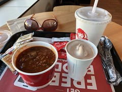 c2019 Mar 23, Wendy's Lunch Iphoneography 10 (King Kong 911) Tags: food chili frosty coke wendys muscle shoals