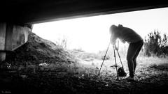 Una luz cegadora (David J. Quintero) Tags: altocontraste bn luz sombra