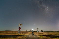 Dubbo (Bill Thoo) Tags: dubbo nsw newsouthwales australia landscape night longexposure stars travel milkyway explorer dark sky nightsky galacticcore rural country bush sony a7rii zeiss batis manfrotto reallyrightstuff