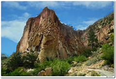 Main Loop Trail (our cultural archives) Tags: mainlooptrail bandeliernationalmonument cavatecliffdwelling ladder frijolescanyon ancestralpueblo archeologicalsite volcanictuff travelphotography nativeamericanculture newmexico losalamosnewmexico southwest