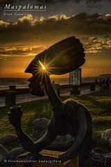 Maspalomas (Fotomanufaktur.lb) Tags: maspalomas gran canaria canaries canary island kanaren sonnenuntergang sunset ocean sun schölkopf schoelkopf canon spain spanien