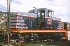 CB&Q GE 44 Ton 9103 (Chuck Zeiler 48Q) Tags: cbq ge 44 ton locomotive 9103 burlington railroad train alchione chz monmouth