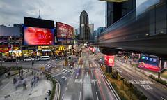 BUKIT BINTANG STREET 2019 (abduljalilhassan975) Tags: landscape light lighting lightrail lines longexpose movement billboard building bukitbintang kualalumpur malaysia street blending