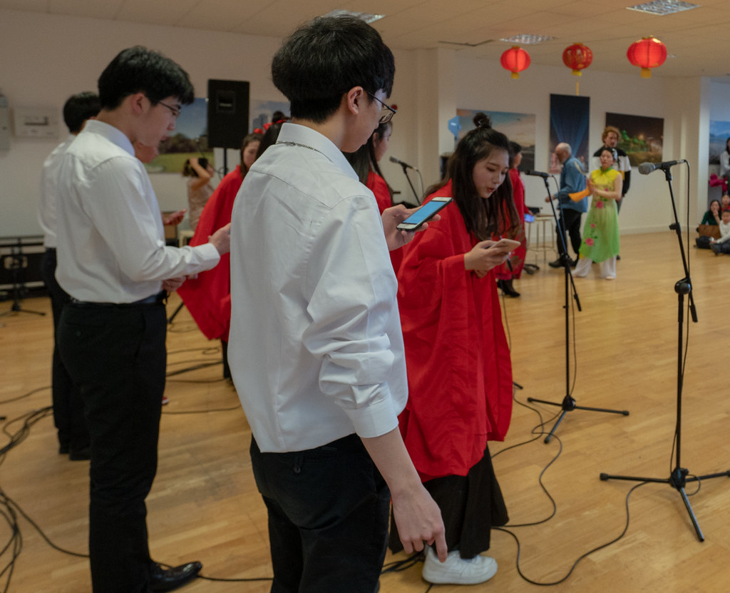 YEAR OF THE PIG - LUNAR NEW YEAR CELEBRATION AT THE CHQ IN DUBLIN [OFTEN REFERRED TO AS CHINESE NEW YEAR]-148954