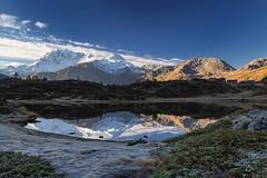 Specchio nel cielo (cesco.pb) Tags: simplonpass passodelsempione hopschesee switzerland svizzera alps alpi vallese fletschhorn canon canoneos60d tamronsp1750mmf28xrdiiivcld montagna mountains