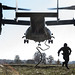 US Special Forces fast-rope from Ospreys in Latvia