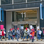 CICS Teachers and Staff Picket Outside the Offices of Charter School CEO Elizabeth Shaw Chicago 2-11-19 5939 thumbnail