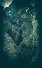 Rock (Crusty Da Klown) Tags: rock holes bc canada canon film kodak expired winter