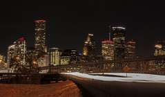 Headlights in Houston (jfre81) Tags: houston texas tx tex downtown skyline interstate 45 freeway highway long exposure traffic movement night lights twop