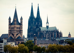 Cologne Cathedral, Cologne, Germany. (digitalreflections) Tags: colourimage cologne building medieval people capital nopeople religion famous historical nationallandmark history oldfashioned buildingexterior basilica ancient square high church city germanculture architectural unesco europeancapitalcity christianity koeln photography sky horizontal spire northrhinewestphalia view dom old landmark germany outdoor catholicism koln christian travel rhineland capitalcities internationallandmark unescoworldheritagesite steeple europe outdoors tower cathedral famousplace european tourism german domkirche touristdestination cityscape catholic citylife day beautiful heritage historic architecture gothic traveldestination altstadtcologne temple tall