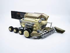 """Mars Dairy Harvester """"Locust"""" (Onkel Ton) Tags: lego moc snot febrovery space rover combine harvester scifi science fiction mars silly"""