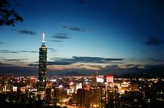Taipei 101 (cockatiella la) Tags: taipei101 taiwan taipei 臺灣 台灣 臺北 台北 底片 mjuii μmjuii xtra400