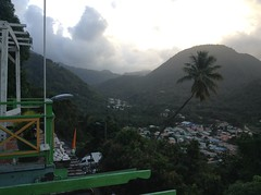 An early morning view up the valley - Soufriere, St Lucia (h_savill) Tags: 2019 february feb holiday travel vacation tourist trip explore worldwide st lucia caribbean antilles windward isle soufriere piton view landscape stlucia green valley mountains cloud