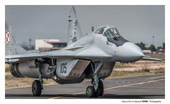 Mikoyan MiG-29 (Ignacio Ferre) Tags: tlp tacticalleadershipprogramme leab albacete losllanos military militar polishairforce aeronave aircraft avión aviation aviación spotting fighter jet nikon aviónareacción mig29 mikoyanmig29
