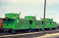 CB&Q Waycar Class NE-10 13501 (Chuck Zeiler 48Q) Tags: cbq waycar class ne10 13501 burlington railroad caboose denver train holwagner alchione chz