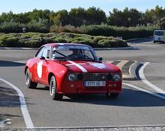 ALFA ROMEO Giulia Sprint GT - 1963 (SASSAchris) Tags: alfa romeo giulia sprint gt voiture italienne milan 10000 tours ricard circuit auto castellet trèfle