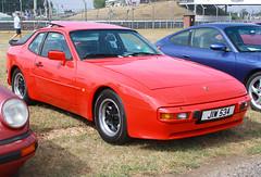 1984 Porsche 944 (JIW 534) 2500cc - Silverstone Classic 2018 (anorakin) Tags: 1984 porsche 944 jiw534 2500cc silverstoneclassic 2018