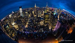 New York Sunset (Explore 4/15/19) (Matt Straite Photography) Tags: new york sunset lights night city scape newyork fisheye fish landscape canon