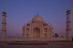 Taj Mahal at Dusk (Happy New Year Flickr Friends) (Donna Hampshire) Tags: tajmahal agra india 7wondersofthenewworld unescoworkheritagesite mughalarchitecture palace shahjahan donnarobinson donnahampshire mausoleum crownofpalaces