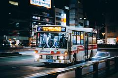 NISSAN DIESEL Space Runner_U-JP211NTN_Fukuoka22Ka5431_1 (hans-johnson) Tags: nissan diesel space runner ud nissandiesel spacerunner nsk nnr nishitetsu kyushu fukuoka qshu nihon nippon japan jp canon eos retro 5d 5d3 vsco bus buses transit transport transportation traffic vehicle vehicles road outside street snap city urban hdr asia asian public night dark light bright red tenjin publictransportation publictransport life metropolitan metropolis blur pan moving color white colorful nice 70200mm auto trip tour travel capture omnibus fast speed 天神 西鉄 バス 福岡 九州 photography japon