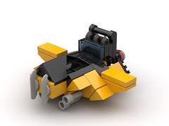 Hound Microfighter (FraG - OutOfTheBox) Tags: microspacetopia legospace legoscifi lego microscale legomicroscale