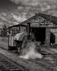 On Shed (Frodingham Photographer) Tags: threkeldquary engineshed sirtom steamengine lakedistrict industrail holiday holiday2018