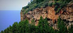 Hike to Banyalbufar | Wanderung nach Banyalbufar - Mallorca, ES (André-DD) Tags: mallorca majorca espania spain spanien banyalbufar küste coast sonne sun wolken clouds mittelmeer mediterraneansea sky road grass mountain tree