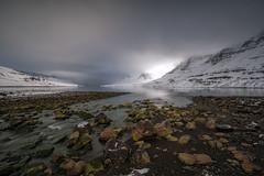 Rocky Beach (inmyeyespictures) Tags: beach steine rocks seydisfjördur island iceland berge mountain snow schnee winter canon 5d iii 1635 f4