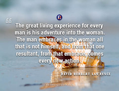 David Herbert Lawrence Quote great living experience every man (Friends Quotes) Tags: action adventure comes davidherbertlawrence embrace embraces english every experience from great himself lawrence living man new one popularauthor resultant woman writer