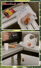 Carrots (chrstphre) Tags: bus stop monroe maxwell orange things