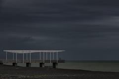 The viewers (Ian@NZFlickr) Tags: viewing platform napier beach esplanade nz