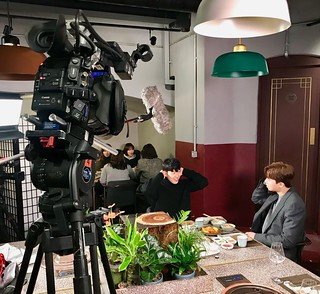 Filming Spurs player Son Heung-min and Korean actor SJ Park