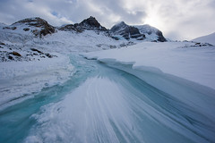 Columbia Icefield (Guldenfels-photos) Tags: johnston canyon icefield columbia canada pvt 2019 ice glacier eau neige snow blue white forest iamnikon
