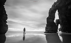 Objetivo (yorxca) Tags: españa galicia catedrales lugo invierno mar sea winter roca stone canon canon5dmarkiii arena sand silencio naturaleza nature ocean atlántico cantábrico