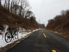 2019 Bike 180: Day 25 - W&OD Trail (mcfeelion) Tags: cycling bike bicycle bike180 2019bike180 wod oaktonva winter snow