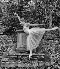 Life is but a dream (Philip L Hinton A.R.P.S.) Tags: mono musicmatch mystique poetry bw nikon dancer dreams