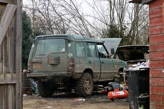 L195 MLS (Nivek.Old.Gold) Tags: 1994 land rover discovery tdi 5door 2496cc