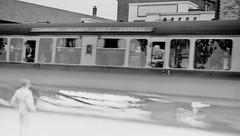 Channel Island Boat Express (vintage ladies) Tags: vintage blackandwhite photograph photo train