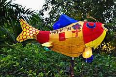 Spring Suprise (chooyutshing) Tags: springsurprise lanterncarp handpainted display chinesenewyear2019 festival attraction celebration gardensbythebay baysouth marinabay singapore