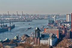 Hamburger Hafen (Markus Daams) Tags: hamburgerhafen hamburg panorama elbe hafen