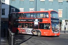 GNE 6120 @ Newcastle-upon-Tyne Eldon Square/Haymarket bus station (ianjpoole) Tags: go north east volvo b5lh wright eclipse gemini bg15rnn 6120 working route red kite 47 mill race blackhall newcastleupontyne eldon square bus station