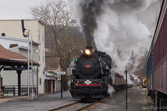 Schuylkill Haven Smokeshow (Dan A. Davis) Tags: steamlocomotive steamengine cnj113 project113 060 readingandnorthern rbmn railroad locomotive train pa pennsylvania minersville schuylkillhaven