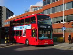 Go Ahead London DOE39 (Teek the bus enthusiast) Tags: victoria putney bridge route 36 507 london buses go ahead abellio metroline tower transit national express